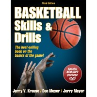 Basketball Skills And Drills 3rd Edition Book With DVD By Jerry Krause, Don Meyer, Jerry Meyer